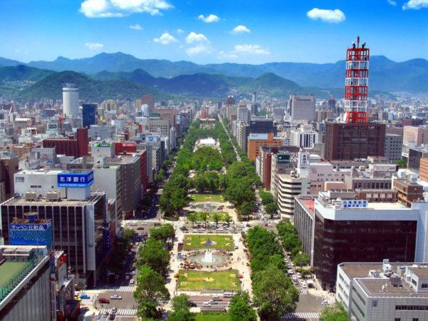 Sapporo Odori park sghtseeing day tour